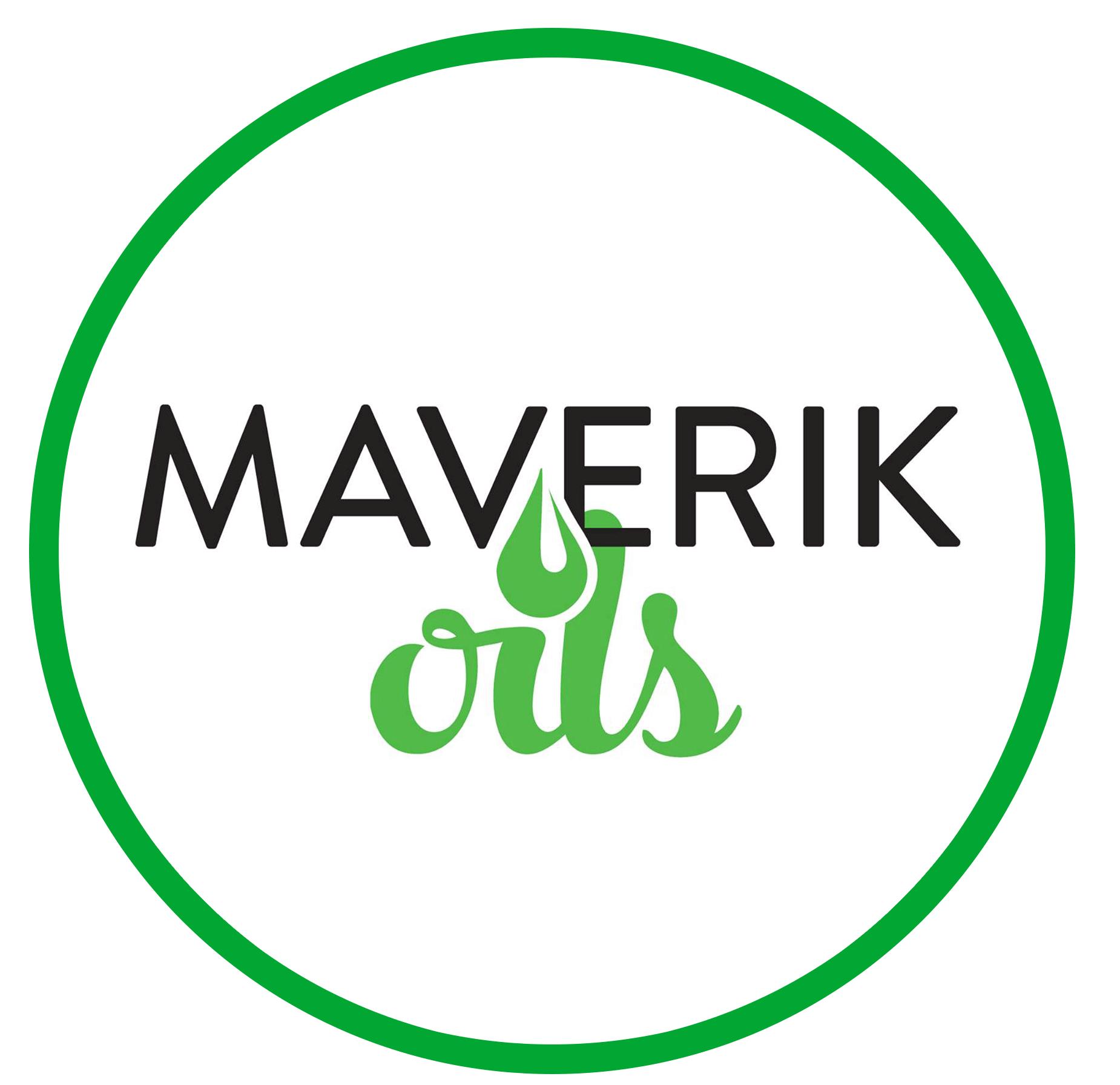 Maverik Oils logo Circle