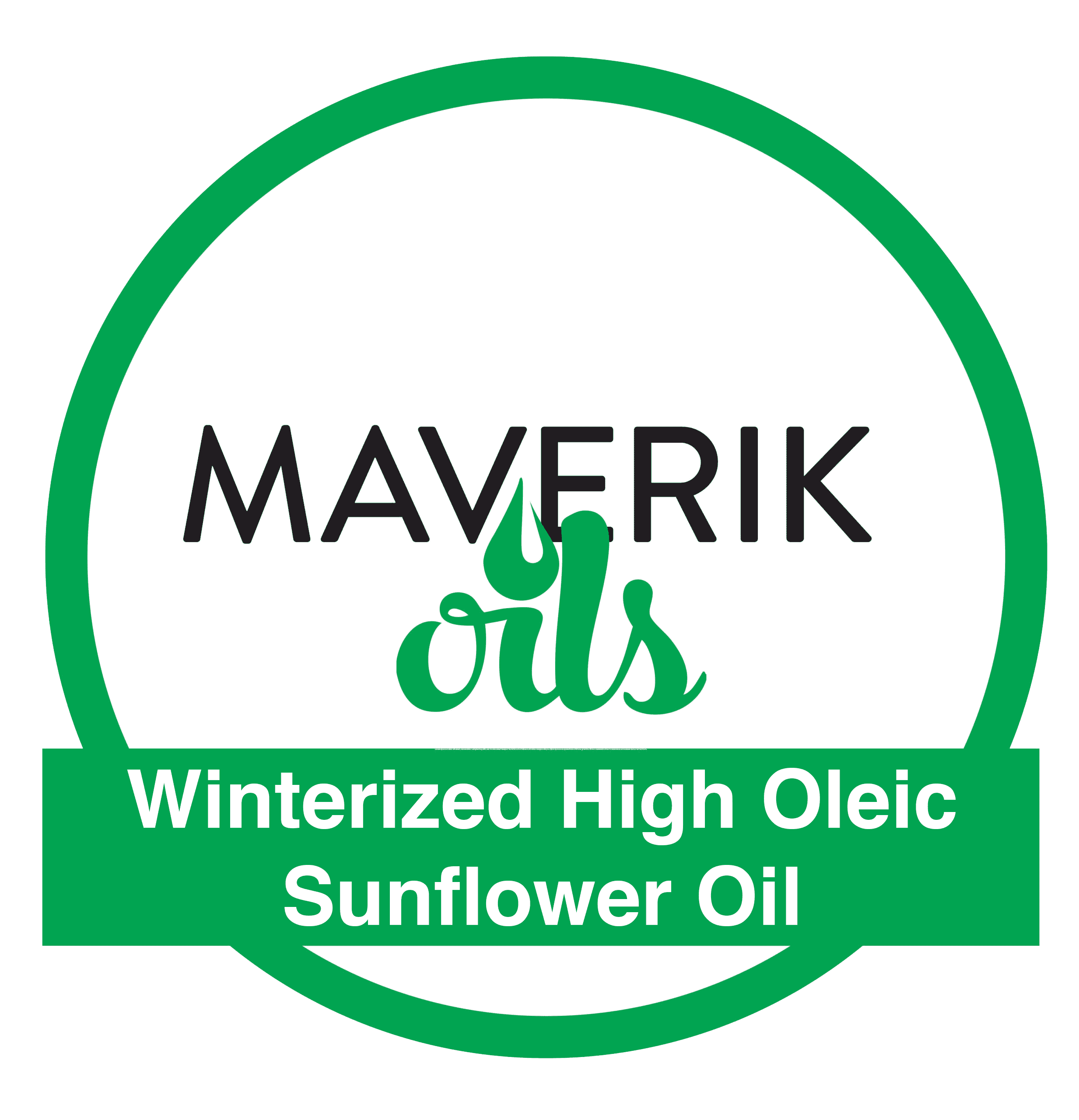 Winterized High Oleic Sunflower Oil