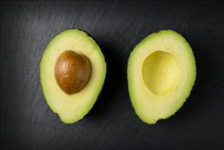 Two Halves of an Avocado