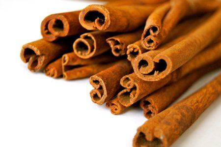 A Bunch of Cinnamon Sticks