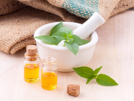 Tiny Bottles of Essential Oils