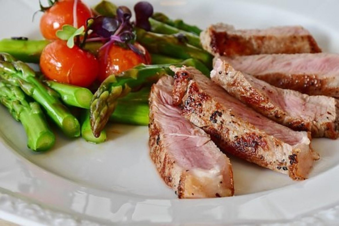 Steak with a Side of Vegetables